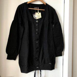 Numph Black Sweater Size S